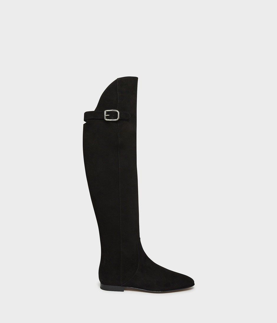OVER THE KNEE RIDING BOOT 詳細画像 BLACK 1
