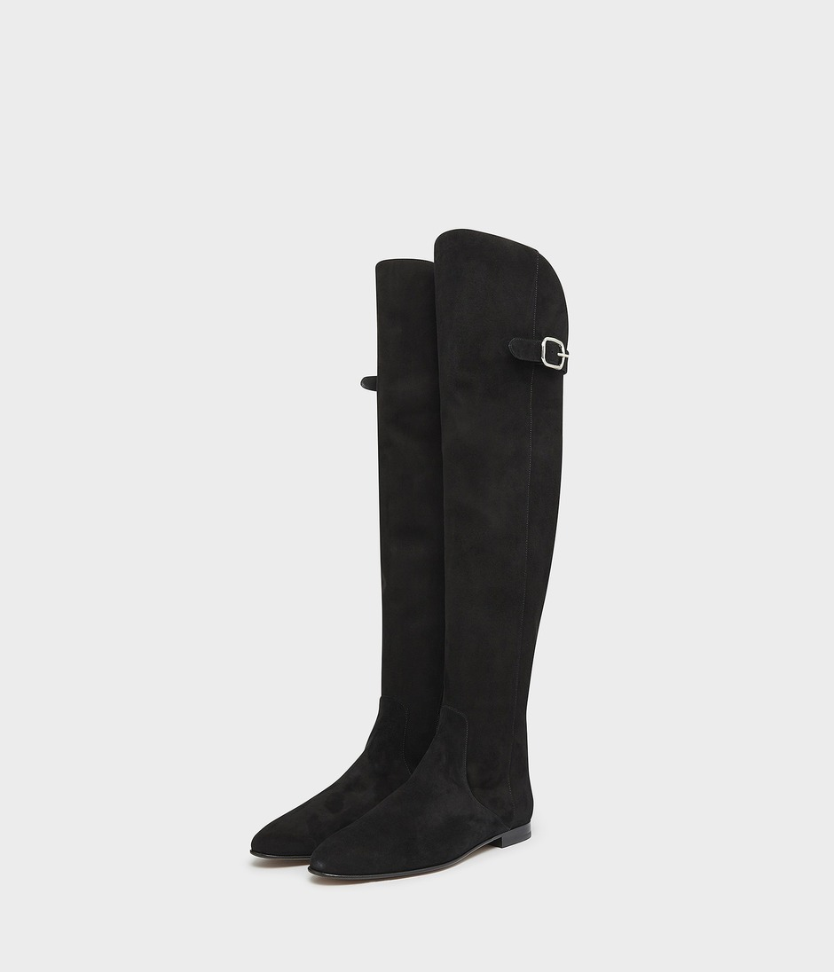 OVER THE KNEE RIDING BOOT 詳細画像 BLACK 3
