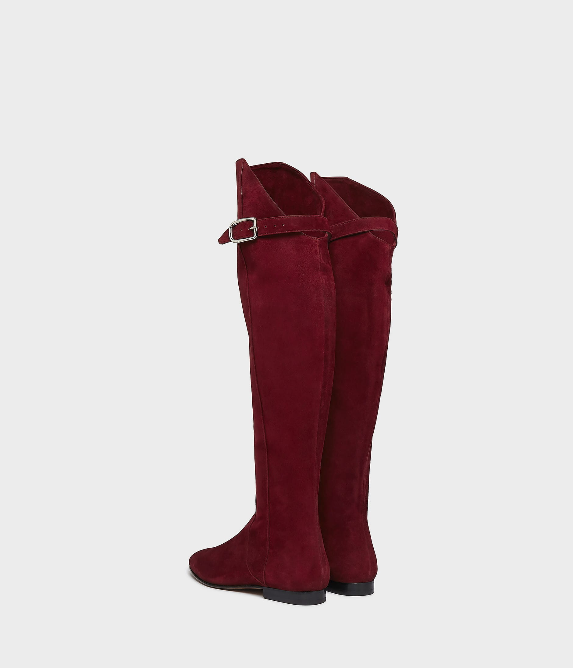 OVER THE KNEE RIDING BOOT 詳細画像 BURGUNDY 4