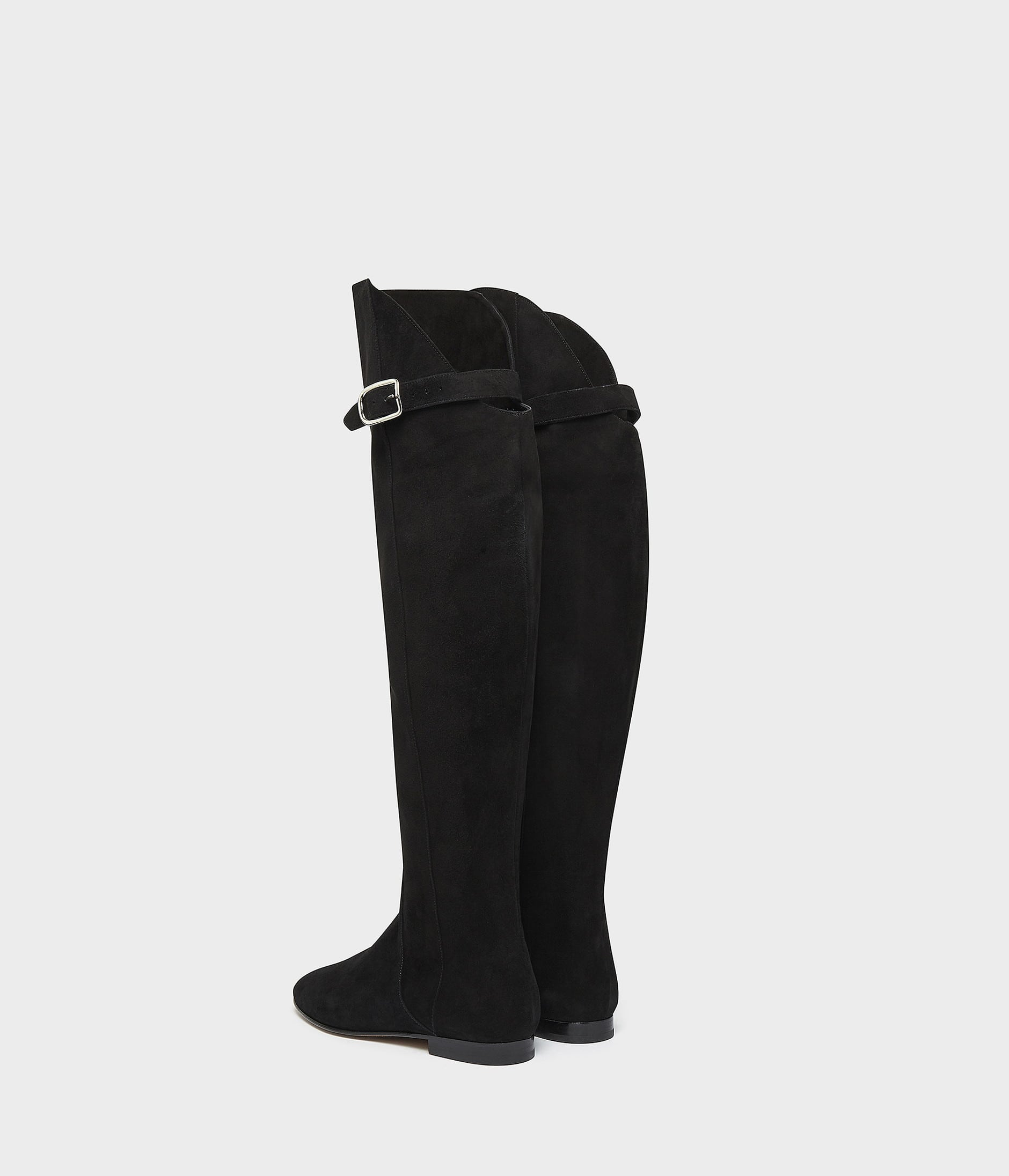 OVER THE KNEE RIDING BOOT 詳細画像 BLACK 4