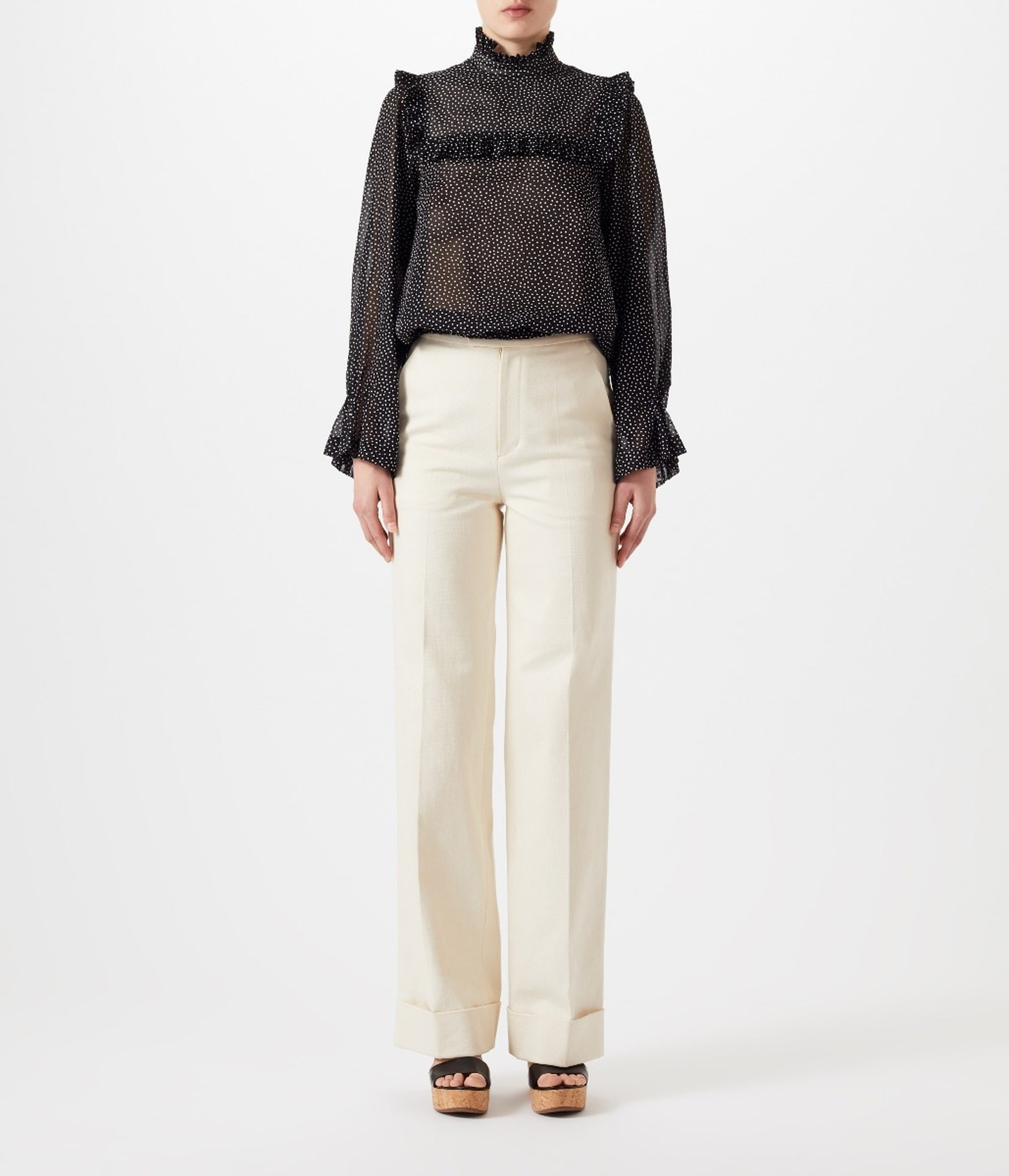 CATALINA TROUSERS 詳細画像 OFF WHITE 2