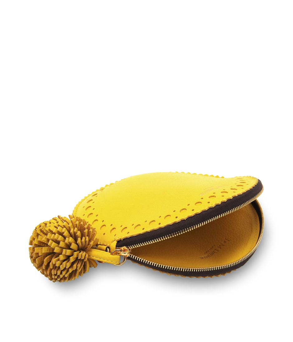 CIRCLE PURSE WITH POMPOM 詳細画像 ACACIA YELLOW 3