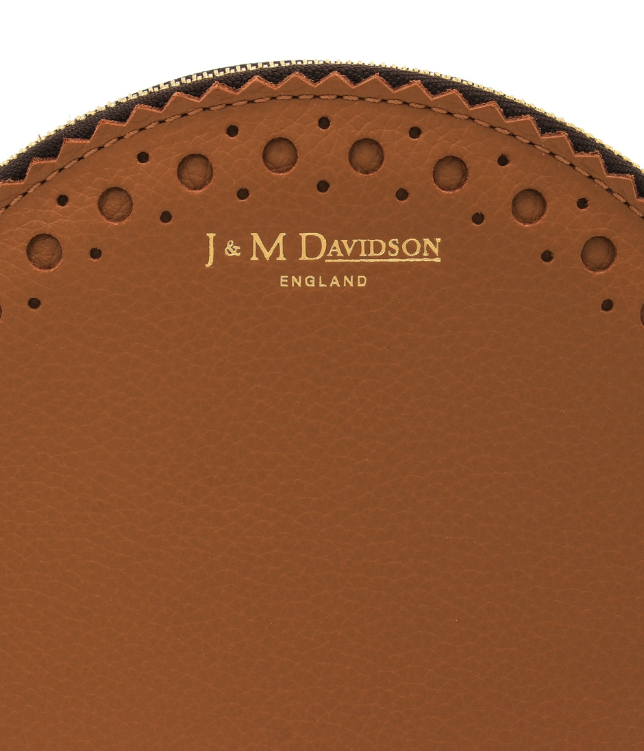 CIRCLE PURSE WITH POMPOM 詳細画像 MOROCCAN BROWN 4