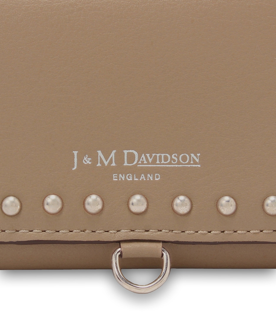 FOLDING WALLET WITH STUDS 詳細画像 CRAY BEIGE 4