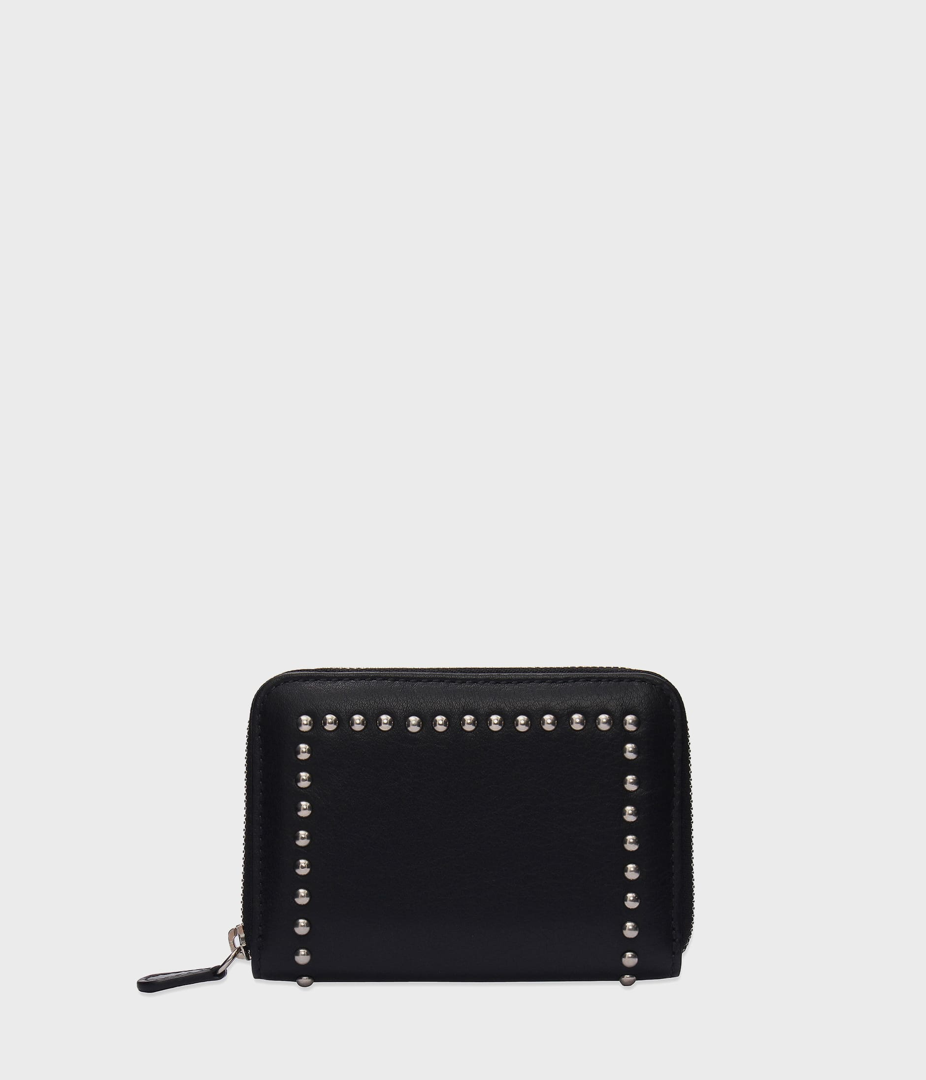 SMALL ZIP PURSE WITH STUDS 詳細画像 BLACK 1