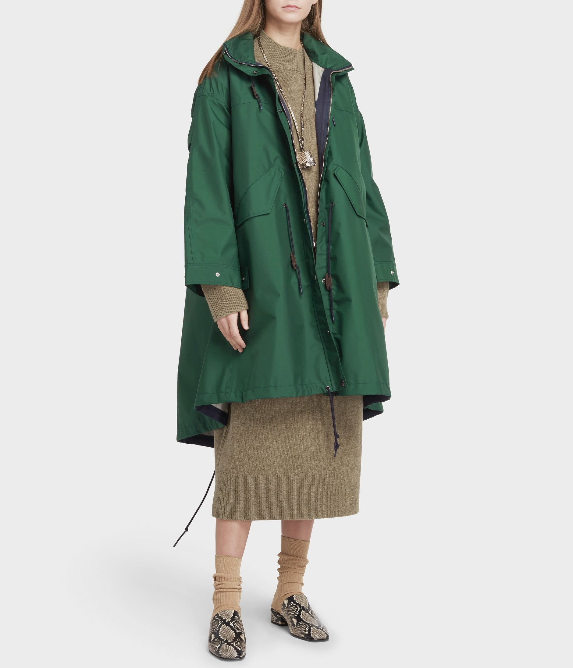 TECHNICAL RAINCOAT 詳細画像 GREEN 2