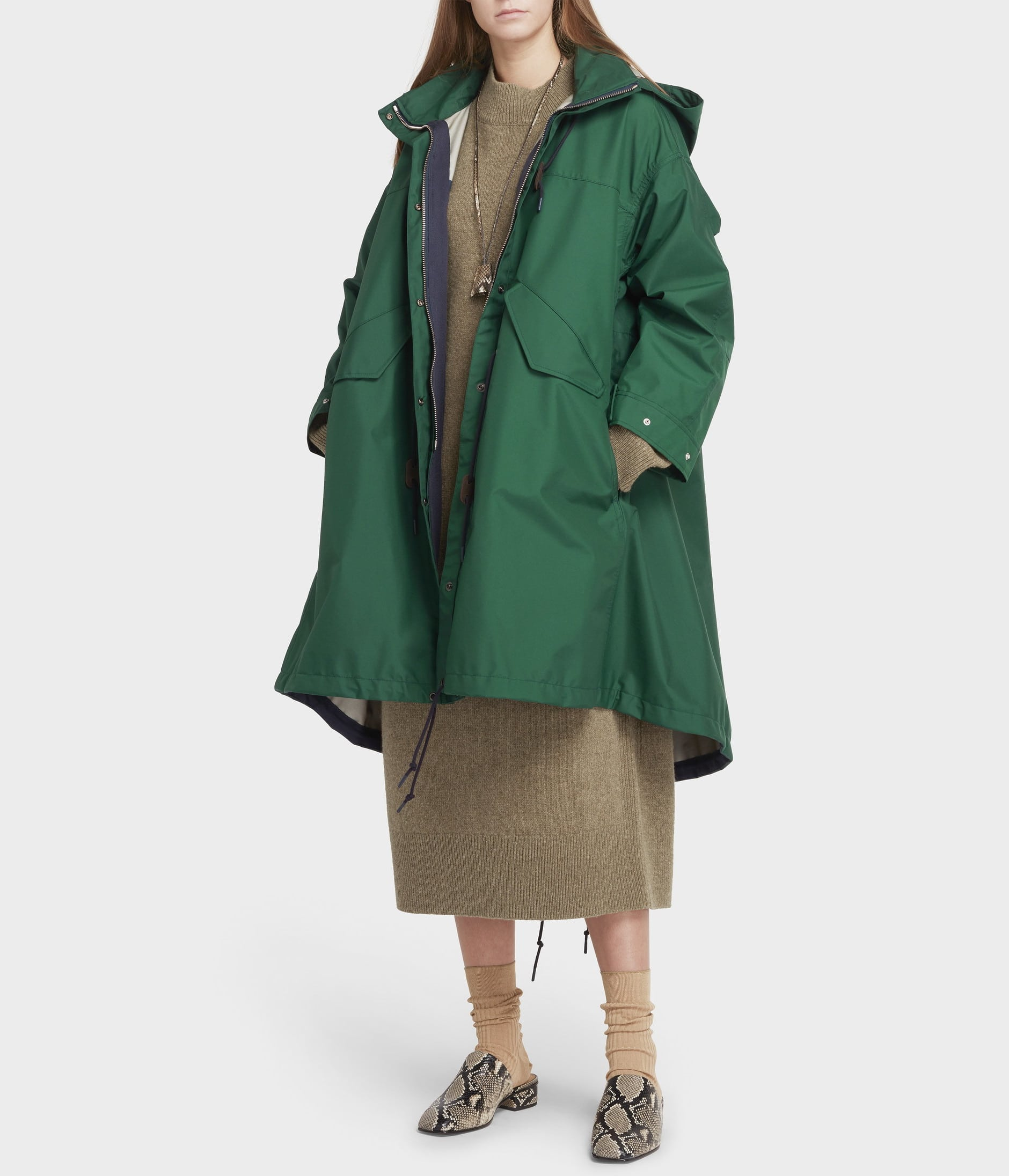 TECHNICAL RAINCOAT 詳細画像 GREEN 3