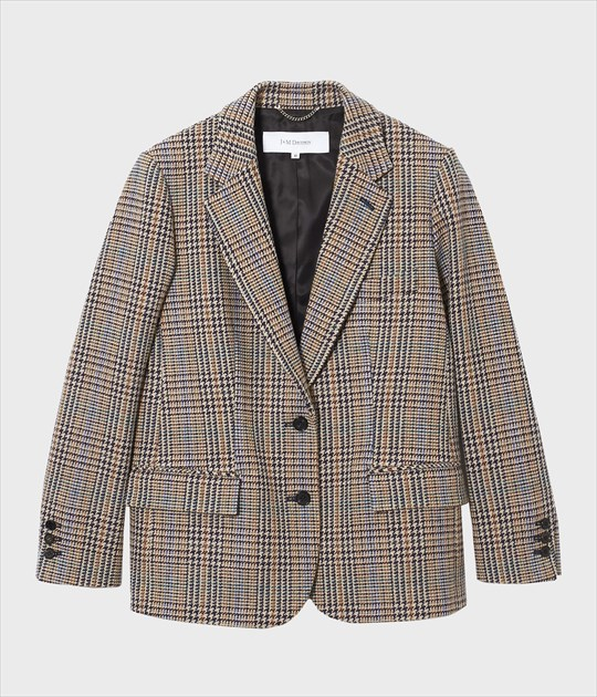 BOXY WOOL JACKET