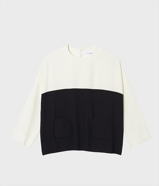 CREPE POCKET TOP