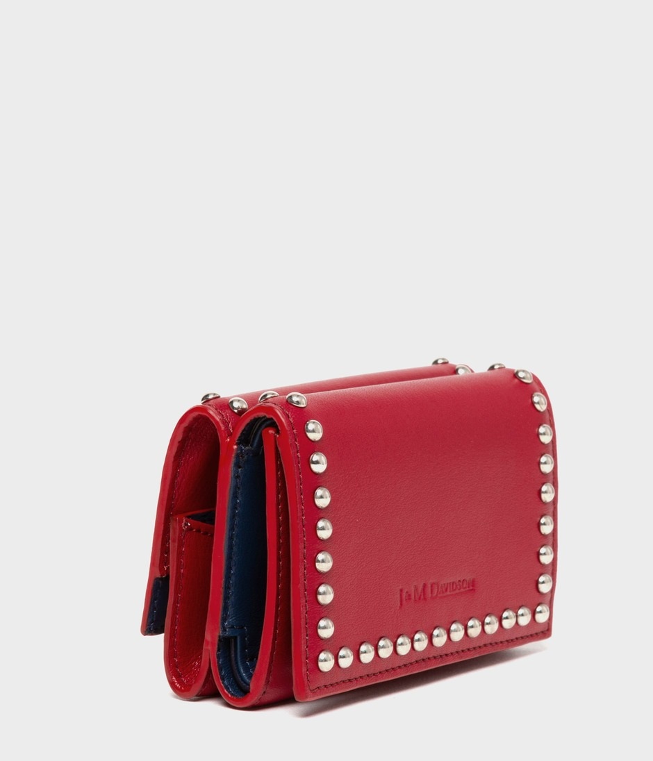 FOLD WALLET WITH STUDS 詳細画像 ROUGE 2