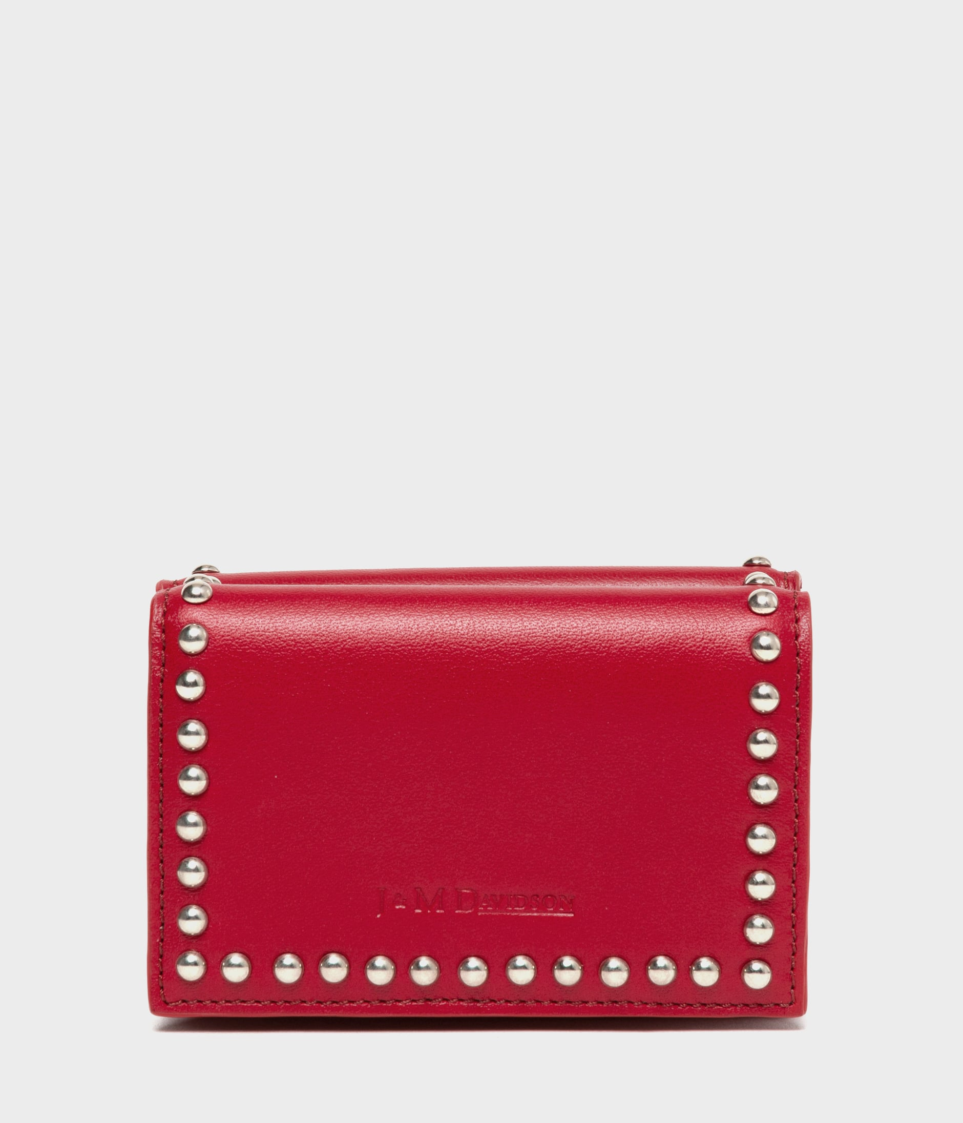 FOLD WALLET WITH STUDS 詳細画像 ROUGE 1