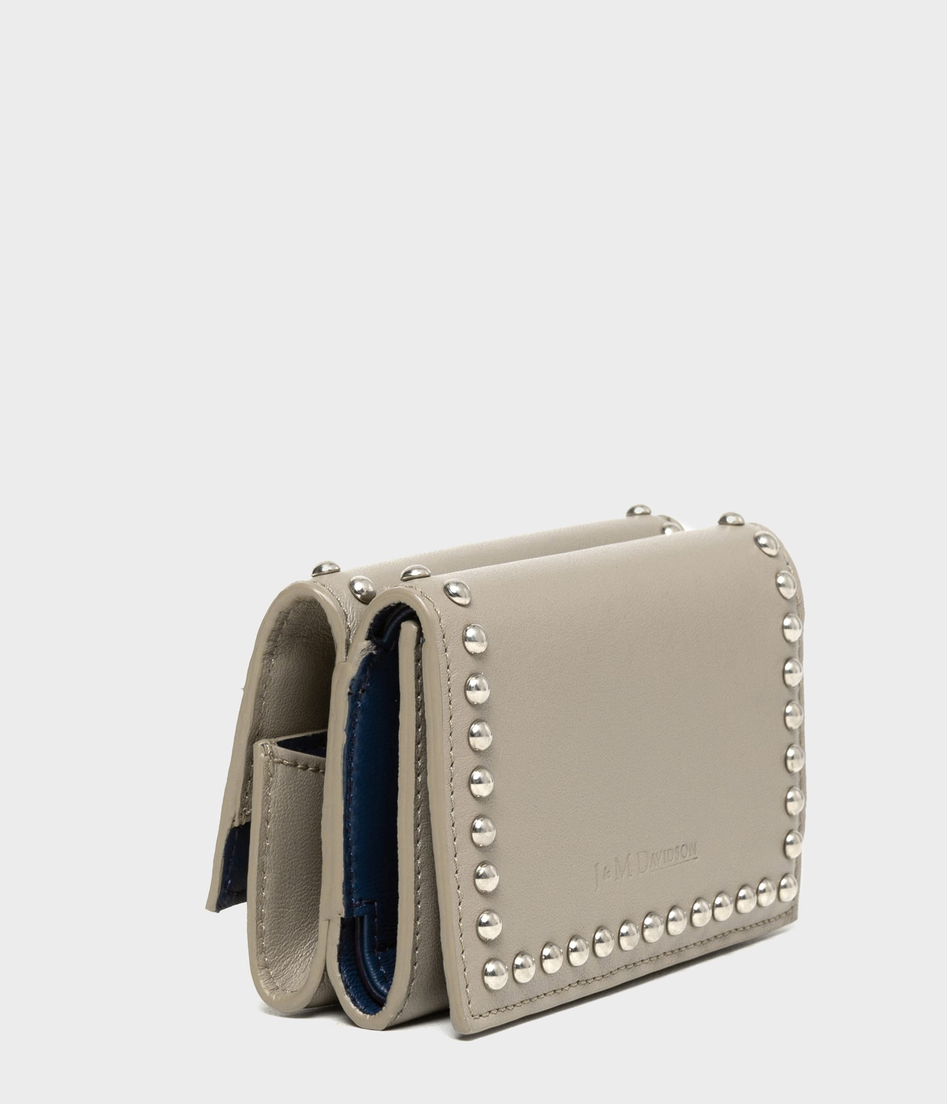 FOLD WALLET WITH STUDS 詳細画像 WARM TAUPE 3
