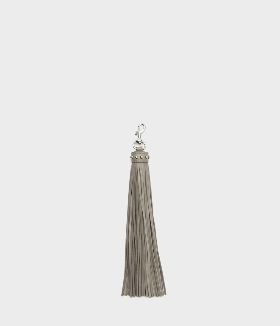 TASSEL CHARM WITH STUDS 詳細画像 WARM TAUPE 2