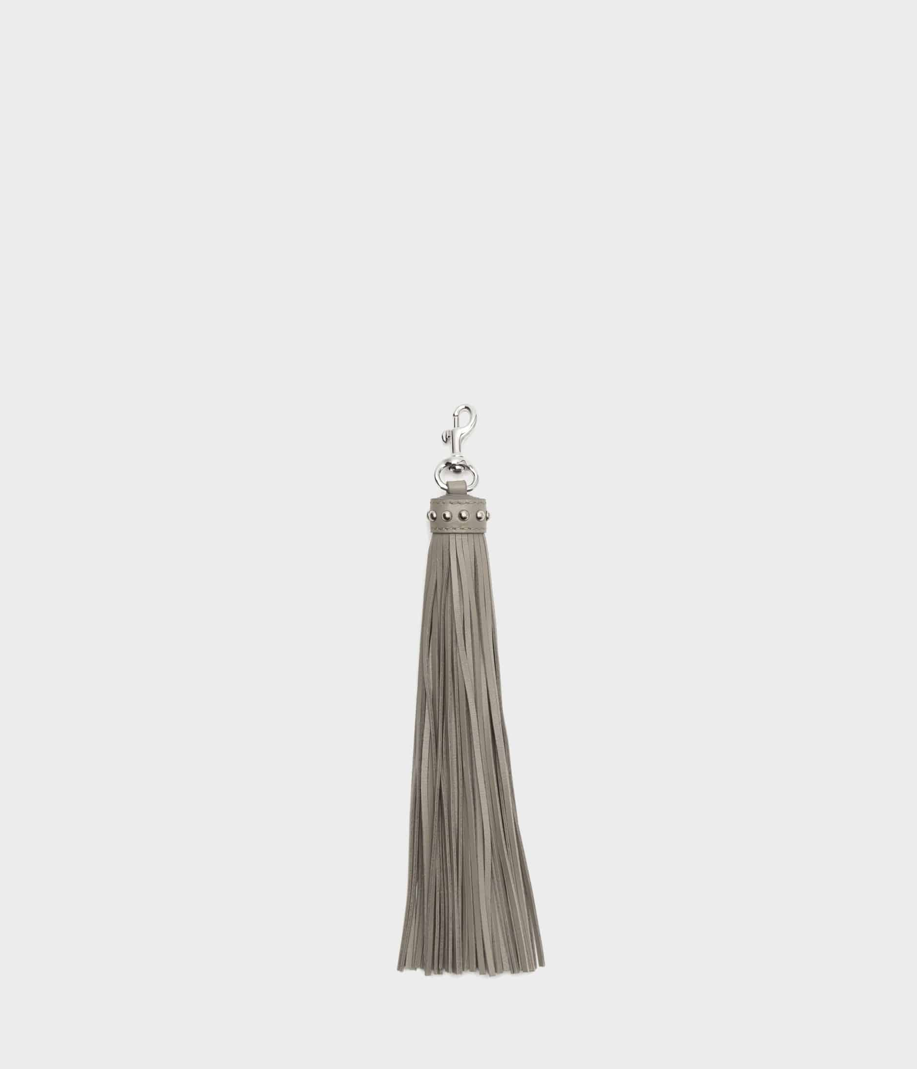 TASSEL CHARM WITH STUDS 詳細画像 WARM TAUPE 1