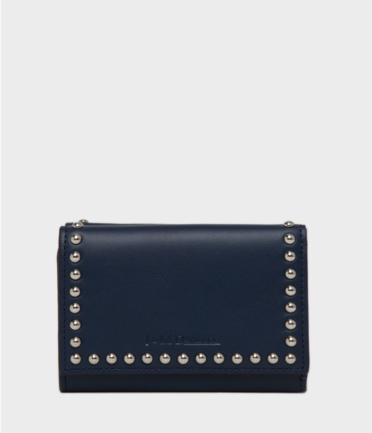 FOLD WALLET WITH STUDS
