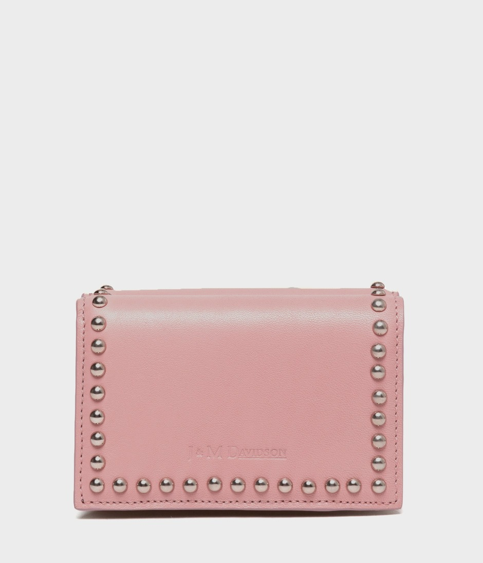 FOLD WALLET WITH STUDS 詳細画像 BLUSH 1