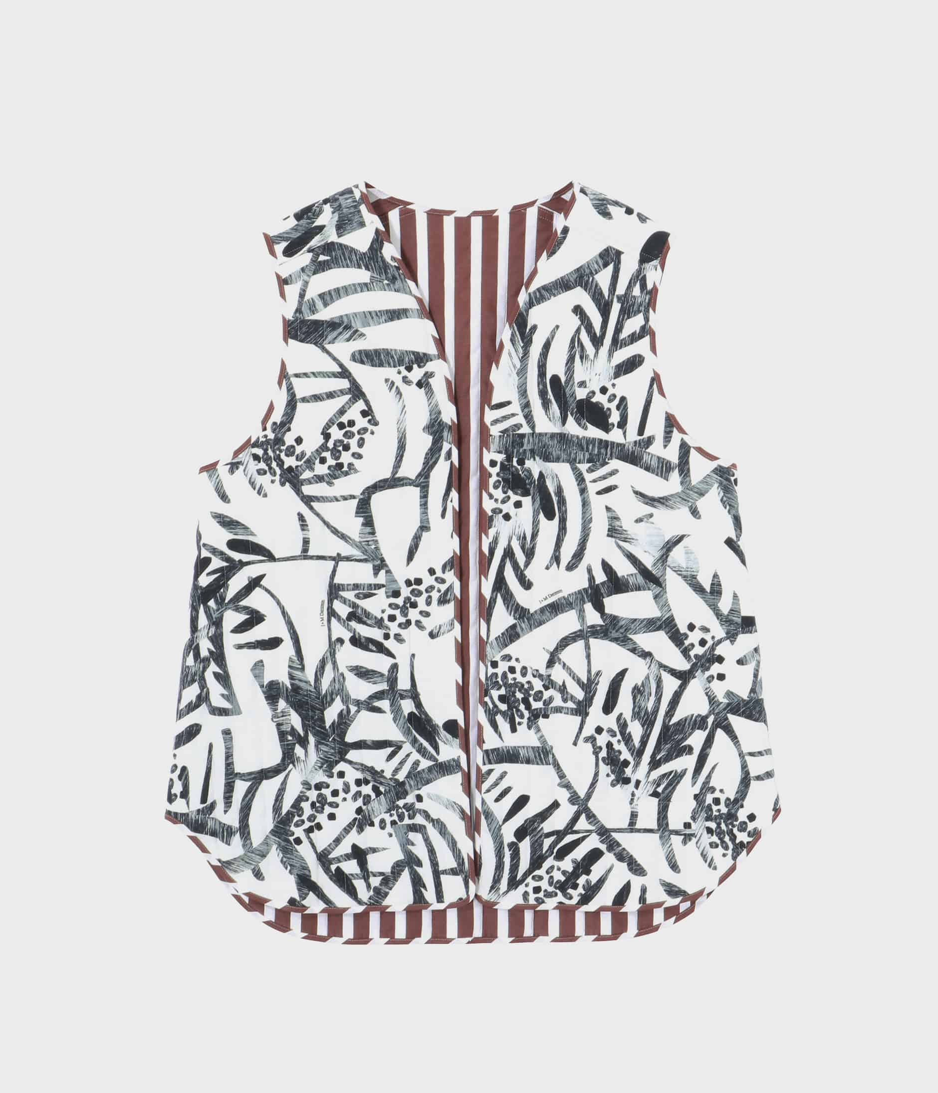 REVERSIBLE QUILTED GILET 詳細画像 GREEN 1