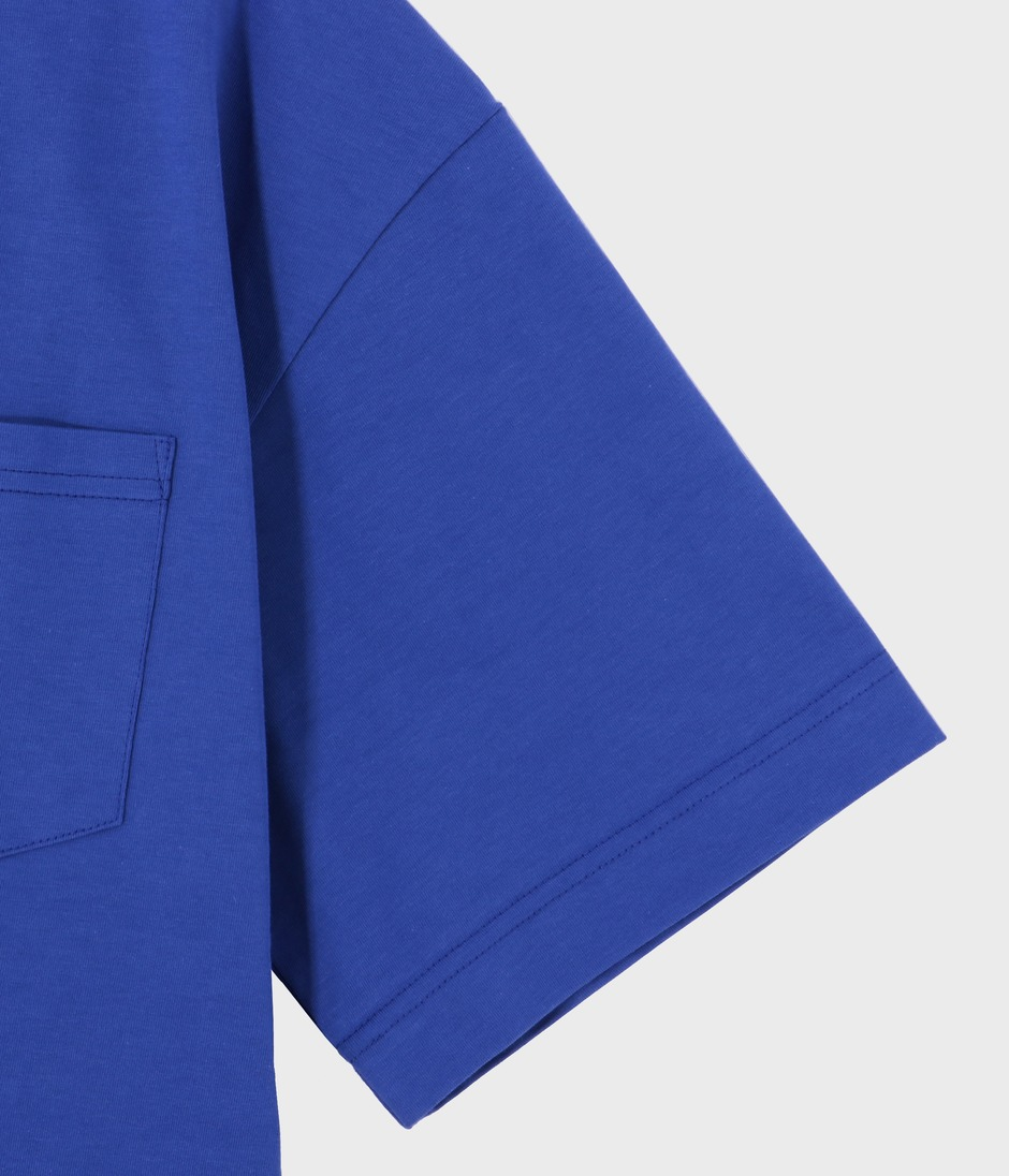 OVERSIZED T-SHIRT 詳細画像 ELECTRIC BLUE 4