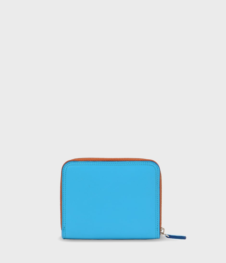 SMALL ZIP AROUND PURSE 詳細画像 TURQUOISE 2