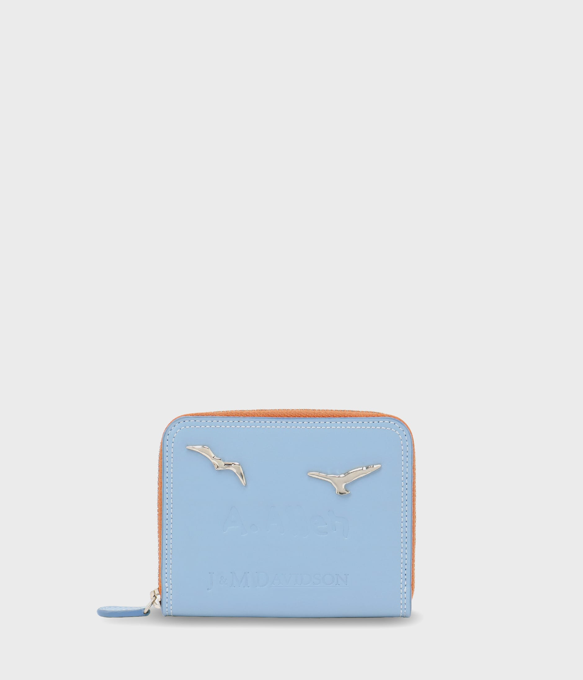 SMALL ZIP AROUND PURSE 詳細画像 SKY BLUE 1
